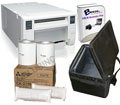 Mitsubishi CPD70 Dye-Sub Photo Printer w/Breeze Systems Software, Padded Carrying Case and 4x6 Media Box Bundle CPD70-Breeze-Case-4x6
