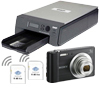 DNP ID400DC3 Wireless Passport Photo Printer System Printer with Sony W800 Camera and 2 Wireless LAN Cards ID400DC3