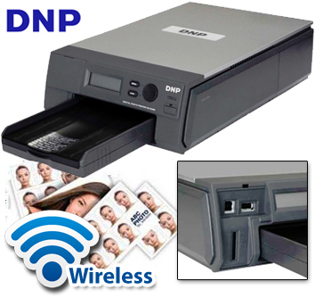 DNP ID400 Wireless Passport  Photo Printer ID400W