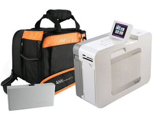 HiTi Digital P110S Mobile Studio Package with 110s Printer, Rechargeable Battery and Carrying Bag 88P2536B0A