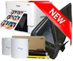 "DNP RX1 Dye Sub Photo Printer with 4x6"" Printer Media (1400 prints) and Printer Carrying Case Bundle DSRX1-4x6-CASE"