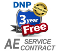 DNP DS80 3-Year Advance Exchange Service Contract Warranty (SP-DS80-AE2) SP-DS80-AE2