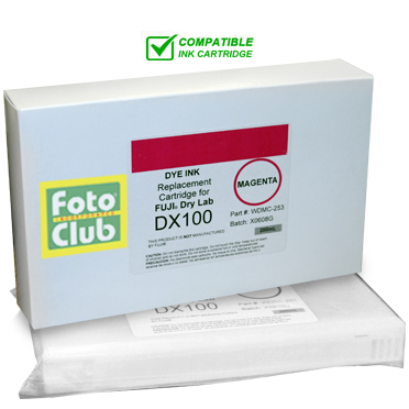 Compatible Fuji DX100 Magenta Ink Cartridge - 200ML WDMC-253