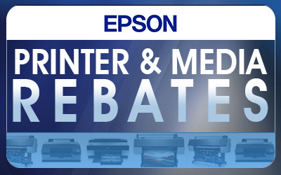 Epson Printer and Media Rebates