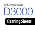 Epson SureLab D3000 Cleaning Sheets S042497