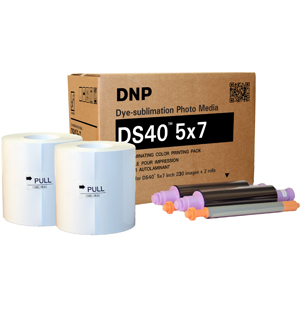 DNP DS40 5x7 Printer Media Kit (460 Prints) DS405X7z