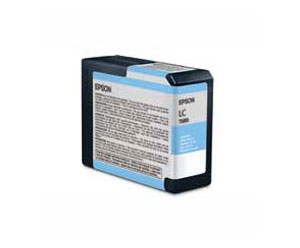 Epson UltraChrome K3 Ink Cartridge, Light Cyan - Epson 3800 / 3880 80ml cartridge T580500