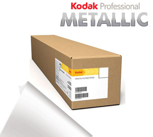 "Kodak Professional 10""inx100'ft Inkjet Metallic Photo ROLL Paper - 255gsm 3"" Core KPRO10MTL"