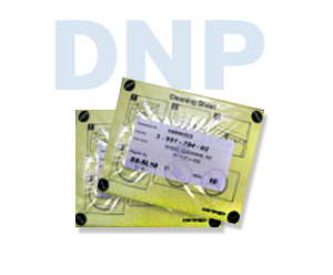 DNP SL10 and SONY CX1 & CR10L Feed Roller Cleaning Sheets 3-991-754-02/2