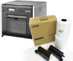 HiTi P520L Dye Sub Photo Printer & 4x6 Ribbon & Paper Case - 1000 Prints Bundle 88.D2035.00AT4x6