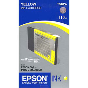 Epson Yellow Ink 110ml T602400