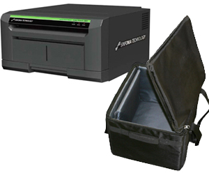 "Sinfonia Color Stream CE1 8x10"" Dye Sub Photo Printer & Printer Carrying Case Bundle CHCS6245-CASE"