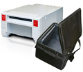 Mitsubishi CPK60DWS Printer & Printer Carrying Case Bundle MB-CPK60S-CASE