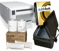 Mitsubishi CPD70DW Photo Printer w/dslrBooth Pro Software, Padded Carrying Case and 4x6 Media Box Bundle CPD70-dslrBooth-Case-4x6