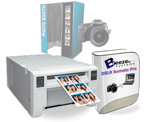 Mitsubishi CPD70DW Digital Photo Printer and Breeze Systems Photo Booth Software Bundle CPD70-BREEZE