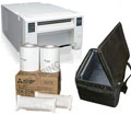 "Mitsubishi CPD70DW Printer, Printer Carrying Case and 4x6"" Media Box Bundle CPD70-Case-4x6"