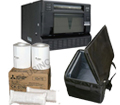 Mitsubishi CPD90DW Printer, Printer Carrying Case and 4x6' Media Box Bundle CPD90-Case-4x6