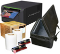 "Sinfonia Color Stream CS2 Dye Sub Photo Printer with 4x6"" Media Kit (600 prints) and Printer Carrying Case Bundle CHC-S6145-4X6-CASE"