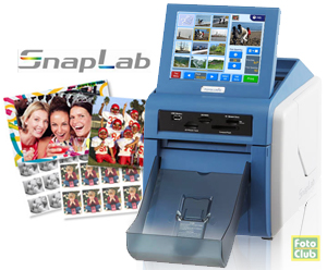 DNP SL10 Snap Lab Dye-Sub Photo Printer DS-SL10