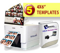 DNP RX1 Digital Photo Printer, Breeze Systems Photo Booth Software and Five Template Bundle