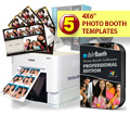 DNP RX1 Digital Photo Printer, dslrBooth Photo Booth Software and Five Template Bundle RX1-DSLRBOOTH-5TEMP