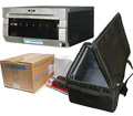 "DNP DS40 Dye Sub Photo Printer with 4x6"" Printer Media (800 prints) and Printer Carrying Case Bundle DS40-4x6-CASE"