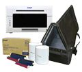 "DNP DS620A Dye Sub Photo Printer with 4x6"" Printer Media (800 prints) and Printer Carrying Case Bundle DS620A-4x6-CASE"