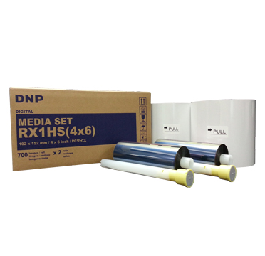 "DNP DS-RX1HS 4x6"" Media - 2 Rolls (1400 prints total) RX1HS(46)"