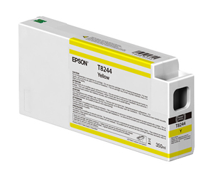 Epson UltraChrome HD Yellow T824400 Ink Cartridge - 350ml T824400