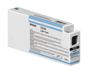 Epson UltraChrome HD Light Cyan T824500 Ink Cartridge - 350ml T824500