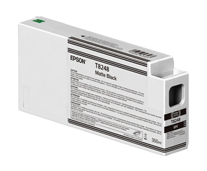Epson UltraChrome HD Matte Black T824800 Ink Cartridge - 350ml T824800