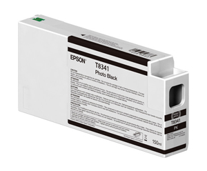 Epson UltraChrome HD Photo Black T834100 Ink Cartridge - 150ml T834100