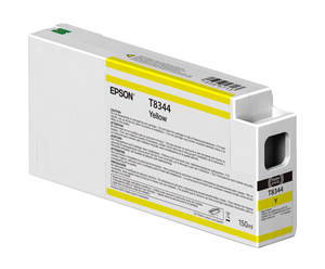Epson UltraChrome HD Yellow T834400 Ink Cartridge - 150ml T834400