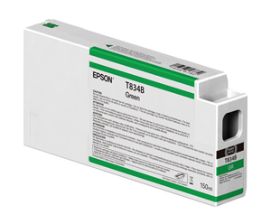 Epson UltraChrome HDX Green T834B00 Ink Cartridge - 150ml T834B00