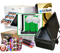 "DNP RX1 Photo Printer w/ dslrBooth Pro Photobooth Software, 10x10'ft GreenScreen Kit, Padded Carrying Case, 4x6"" Media Box and 10 PhotoBooth Templates Bundle RX1-dslrBooth-GreenKit-Case-4x6Temp"