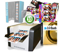 HiTi 510L Photo Printer, dslrBooth Pro Photobooth Software and Ten Photo Booth Templates Bundle 510L-dslrBooth