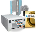 Mitsubishi CPD70DW Photo Printer and dslrBooth Pro Photobooth Software Bundle cpd70dw-dslrBooth
