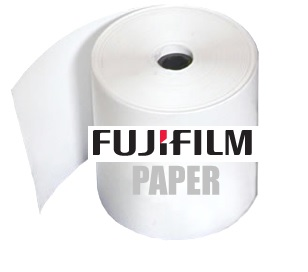"Fuji Frontier-S DX100 4""in x 213'ft GLOSSY Roll Paper - (2 Rolls per Case 426'ft Total) 7160485"