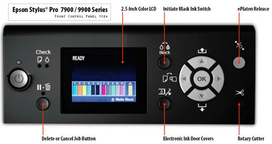 Epson Stylus Pro 9900 Inkjet Printer 44