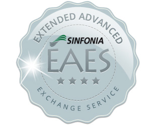 Sinfonia CE1 Year-2 Extended Advanced exchange Service (2 yr or 20K prints) S6245ADVEXG
