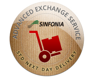 Sinfonia CE1 Advanced Exchange - Standard Next Day Delivery Shipping Fee (Per Exchange) S6245ADVEXA