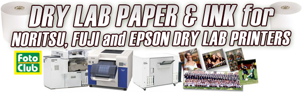 Dry Lab Paper and Ink - FotoClub Inc