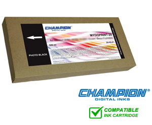 Champion Mydoprint 50 Inkjet Cartridge for Fuji DL410, 430 & 450 - Photo Black 500ml 50-PB-P1