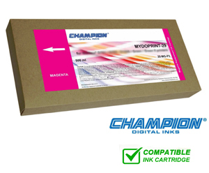 Champion Mydoprint 50 Inkjet Cartridge for Fuji DL410, 430 & 450 - Magenta 500ml 50-MG-P3
