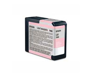 Epson UltraChrome K3 Ink Cartridge, Light Magenta - Epson 3800 80ml cartridge T580600