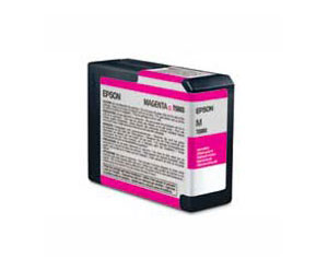Epson UltraChrome K3 Ink Cartridge, Magenta - Epson 3800 80ml cartridge T580300