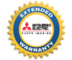 Mitsubishi Year 2 and 3 Extended Warranty  for CP-D707DW, CP-D70DW, CP-9810DW, CP9550DW and CP-3800DW EXT-PR24-01