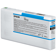 Epson UltraChrome HDX CYAN Ink Cartridge - 200 ml T913200