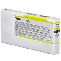 Epson UltraChrome HDX YELLOW Ink Cartridge - 200 ml T913400