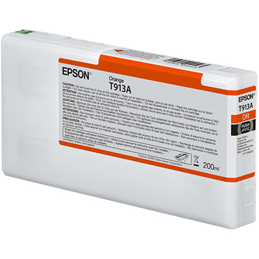 Epson UltraChrome HDX ORANGE Ink Cartridge - 200 ml T913A00